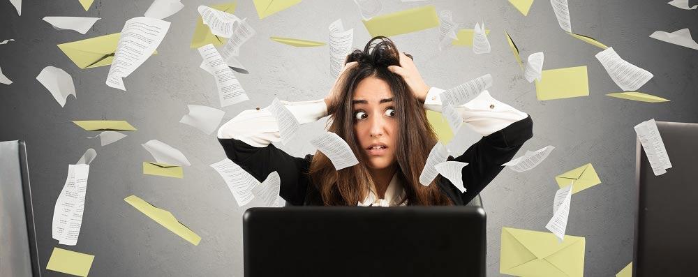 Symptômes du stress et de l'anxiété